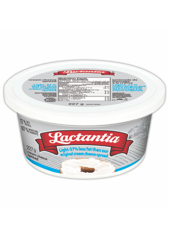 Lactantia® Light Cream Cheese Tub