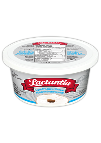Lactantia® Light Cream Cheese - Fromage à la crème léger Lactantia® en pot