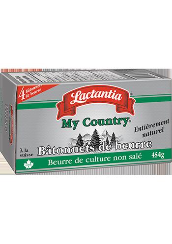 Lactantia My Country Bâtonnets de beurre