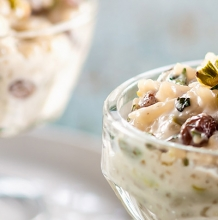 Raisin and Pistachios Rice Pudding
