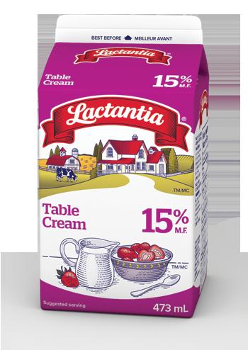 Lactantia® 15% Table Cream