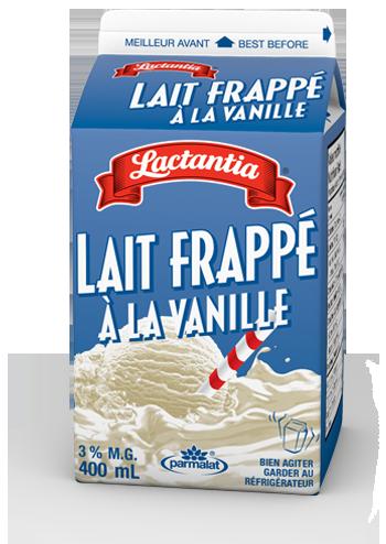 Lait frappé à la vanille Lactantia®
