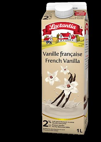 Lait aromotisé à la vanille française Lactantia®
