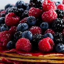 Summer Fresh Raspberry Crèpe Cake