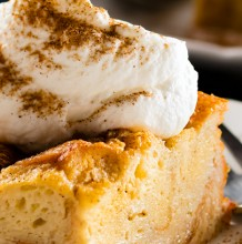 Vanilla Chai Bread Pudding