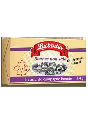 Beurre non salé Lactantia®