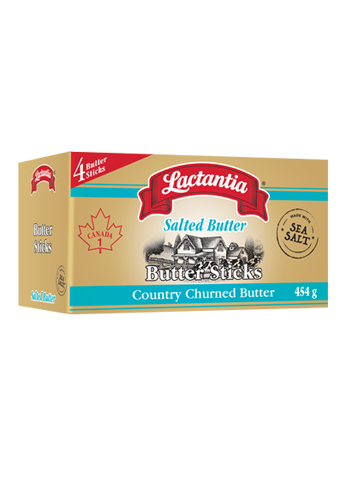Lactantia® Salted Butter, made with Sea Salt