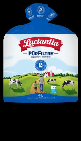 Lait Lactantia® PūrFiltre 2 % 4L