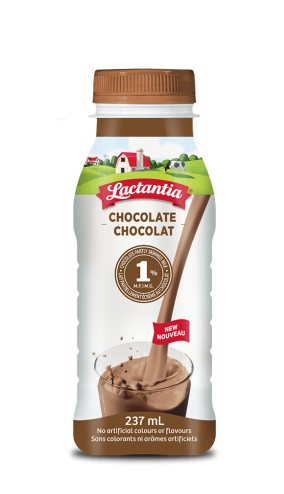 Lactantia® Chocolate 1% Milk 237mL