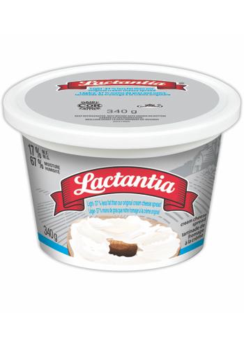 Lactantia® Light Cream Cheese Tub 340 g