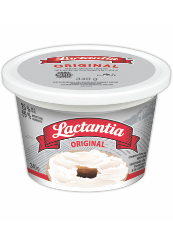 Lactantia® Original Cream Cheese Tub 340 g