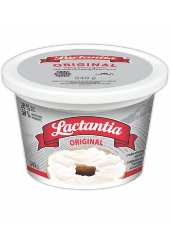 Lactantia® Original Cream Cheese Tub 340 g