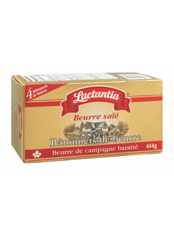 Beurre salé Lactantia® Bâtonnets de beurre