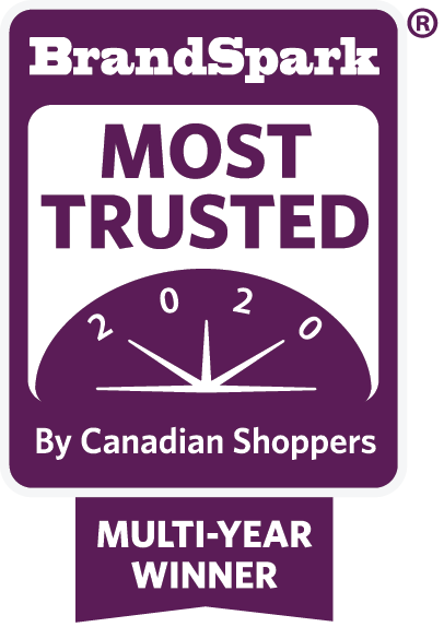 BrandSpark Most Trusted 2020 Multi-Year Winner