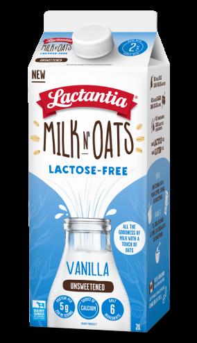 Lactantia® Milk N' Oats Vanilla 2L