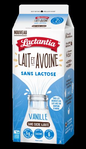 Lactantia® Lait et Avoine Vanille 2 L